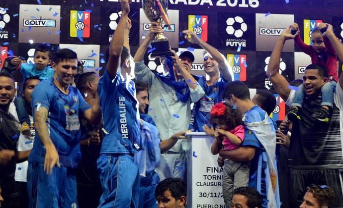 zulia campeão da copa venezuela (Foto: Reprodução / Twitter)