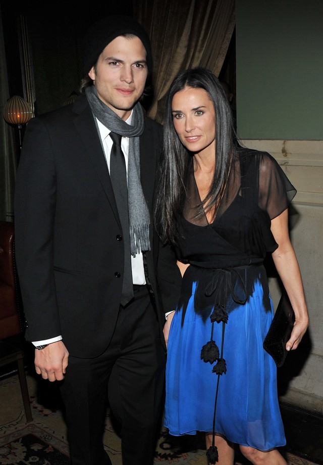 Ashton Kutcher e Demi Moore em 2011 (Foto: Getty Images)