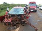 Uma pessoa morre e oito ficam feridas em acidente em Guarapuava