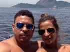 Ronaldo posa com Paula Morais e coloca 'coraçãozinho' na legenda