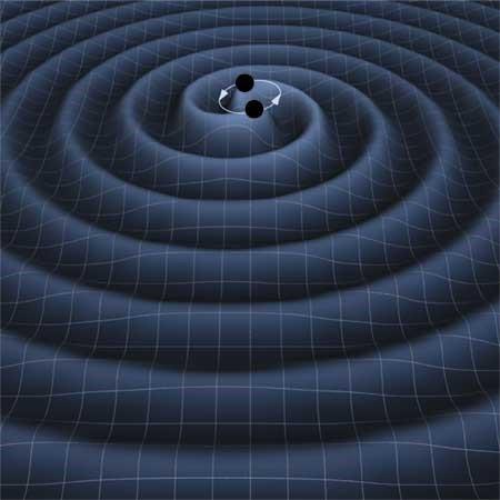 Ondas gravitacionais são como ondulações no espaço-tempo (Foto: Reprodução)