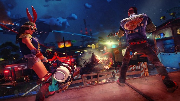 Sunset Overdrive tem multiplayer movimentado e personagens criados pelo usuário. (Foto: Divulgação) (Foto: Sunset Overdrive tem multiplayer movimentado e personagens criados pelo usuário. (Foto: Divulgação))