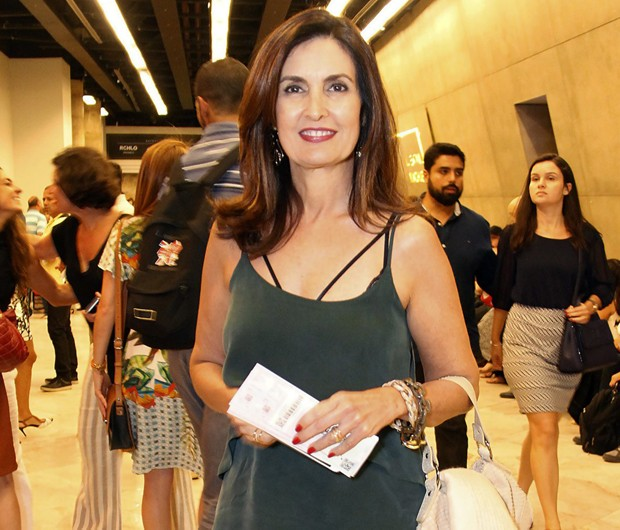 Fátima Bernardes (Foto: Marcos Ferreira/Brazil News)