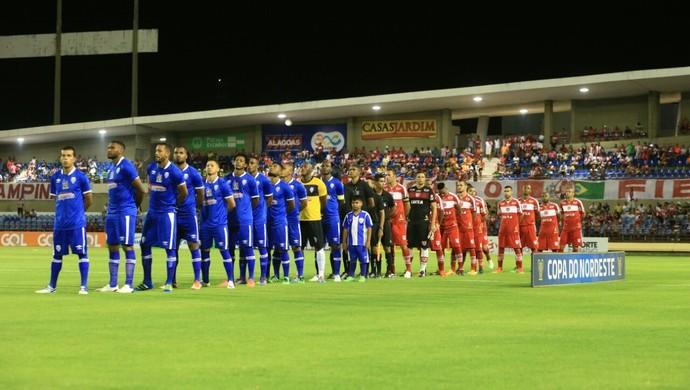 CRB x CSA, no Rei Pelé (Foto: Ailton Cruz / Gazeta de Alagoas)
