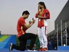 Pedido de casamento de atleta chinesa: romantismo ou pressão masculina?