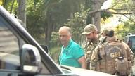 Marcos Valério comparece à sede da PF em BH para depoimento