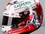 De capacete novo e motocicleta retrô, Vettel esbanja estilo em Barcelona