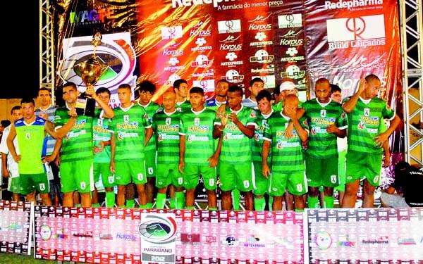 Sousa vice-campeão paraibano de 2012 (Foto: Leonardo Silva / Jornal da Paraíba)