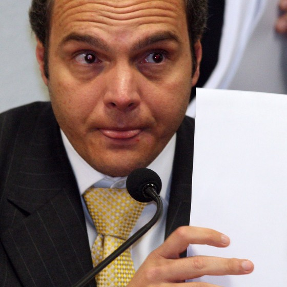 Doleiro Lúcio Funaro (Foto: Gustavo Miranda/Agência O Globo)