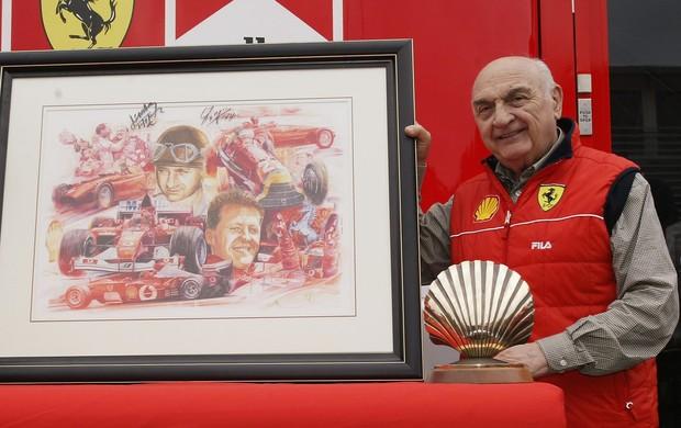 Jose Froilan Gonzalez - primeiro vencedor de um GP com a Ferrari na Fórmula 1 (Foto: Agência Getty Images)