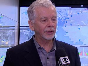 Fortunati fala sobre os problemas causados pelo temporal que atingiu o RS (Foto: Reprodução/RBS TV)