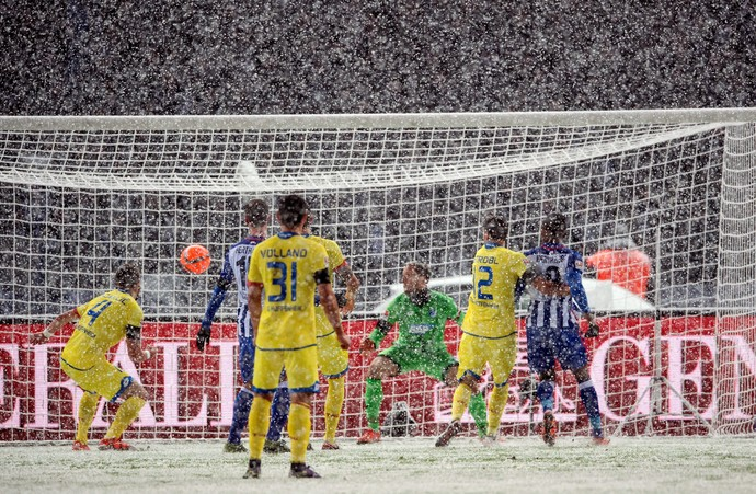 Gol contra Hertha Berlim x Hoffenheim (Foto: EFE/Soeren Stache)