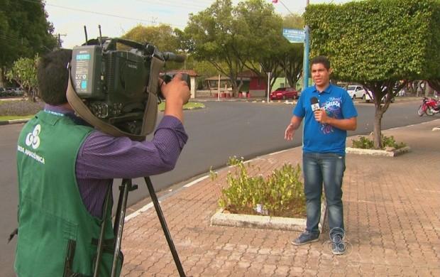 Repórteres de Roraima contam o desafio de fazer notícia diariamente (Foto: Roraima TV)