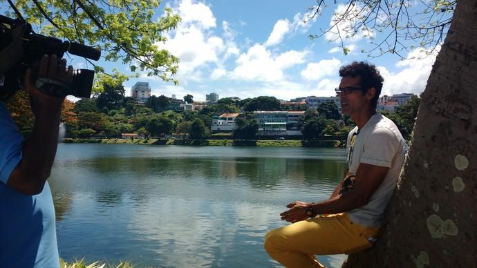 Dique do Tororó é o cenário do 'Aprovado' de sábado, 17 (Foto: TV Bahia)