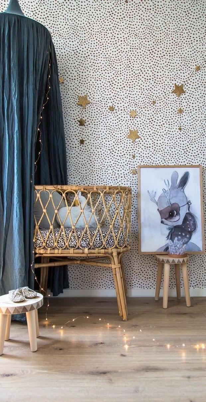 Décor do dia: quarto selvagem e rústico para o bebê (Foto: reprodução)