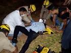 Veja momento do resgate de Cristiano Araújo após acidente