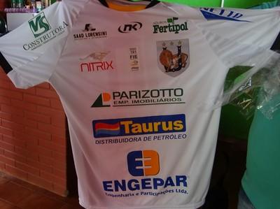 Uniforme do Ubiratan na temporada 2014 (Foto: Divulgação/Ubiratan)
