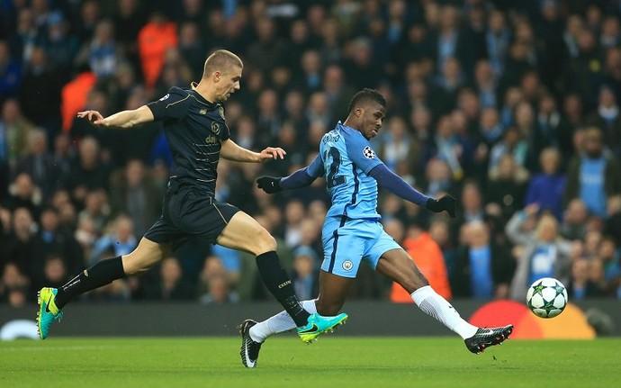 Iheanacho - Manchester City (Foto: Reprodução/Twitter)