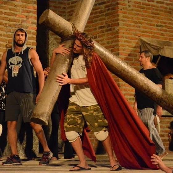 Rômulo Arantes Neto viverá Jesus na tradicional montagem (Foto: Divulgação)