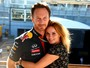 Geri Halliwell anuncia noivado com Christian Horner, chefe da Fórmula-1