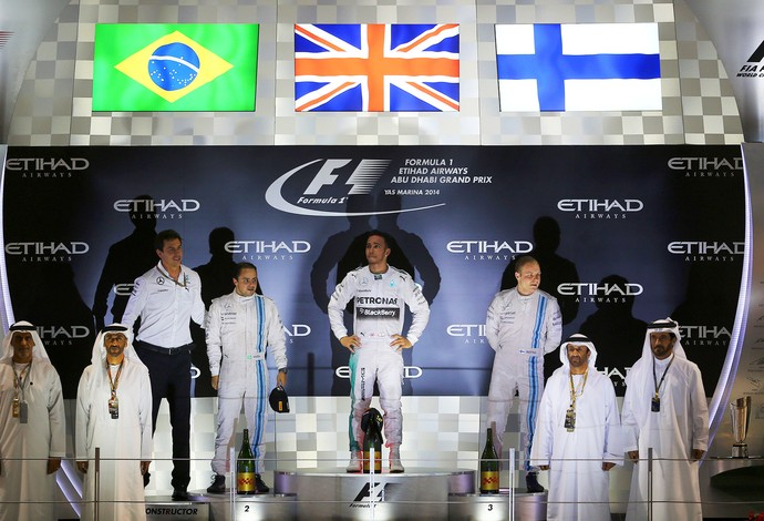 Lewis Hamilton F1 GP Abu Dhabi (Foto: AFP)