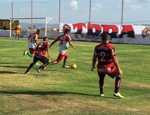 Campinense x Ferroviário-PE, amistoso no Estádio Renatão (Foto: Silas Batista / GloboEsporte.com)