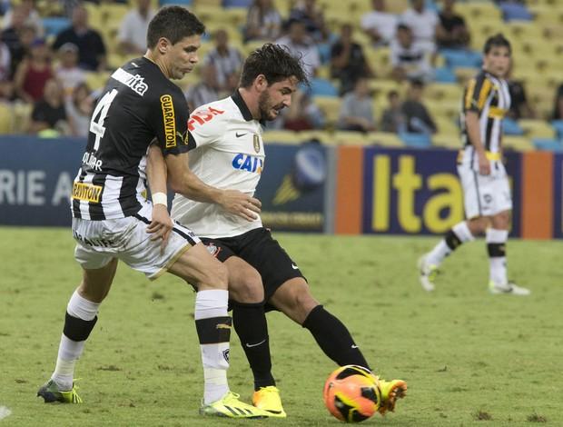Alexandre Pato Botafogo x Corinthians (Foto: Daniel Augusto Jr / Agência Corinthians)