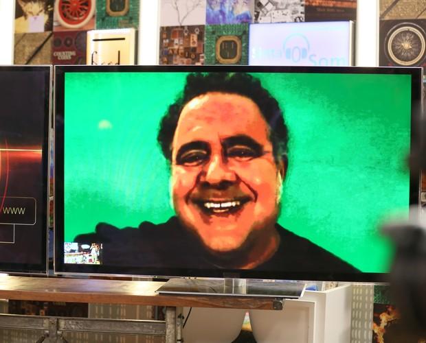 Léo Jaime diz que seria o jurado menos fofo... Será? (Foto: Isabella Pinheiro / Gshow)