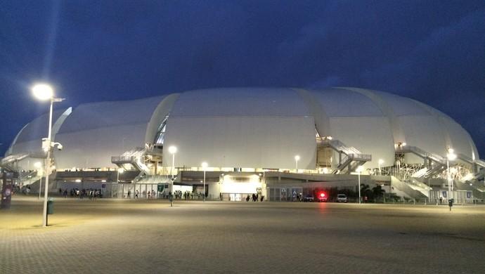 Arena das Dunas - TR (Foto: Carlos Cruz/GloboEsporte.com)