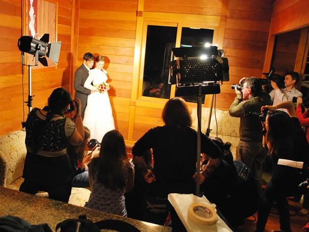 Aulas práticas do curso de graduação em tecnologia em fotografia (Foto: Divulgação / Ulbra)
