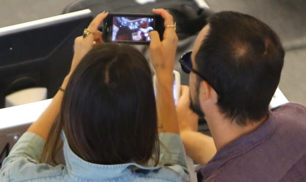 Paulo Vilhena e Thaila Ayala (Foto: Marcello Sá Barretto/AgNews)