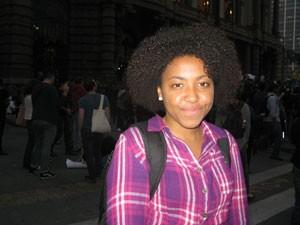 Estudante Aline (Foto: Tahiane Stochero/G1)