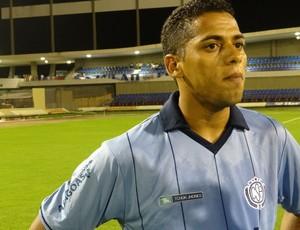Robson, volante do CSA (Foto: Caio Lorena / Globoesporte.com)