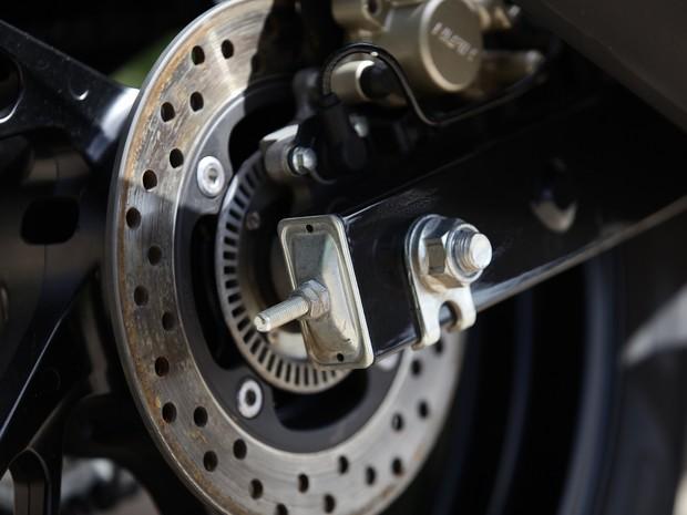 Honda CB Twister 2016 (Foto: Caio Kenji / G1)