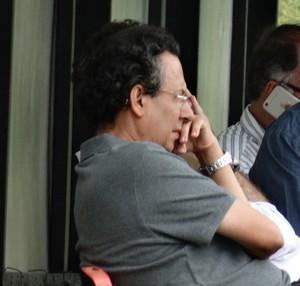 Lázaro Cunha e Eduardo Maluf, Atlético-MG (Foto: Rafael Araújo)