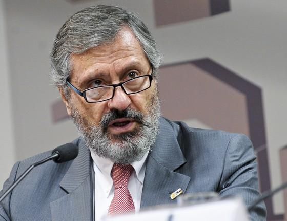 O ministro da Justiça e Segurança Pública, Torquato Jardim (Foto: Pedro França/Agência Senado)