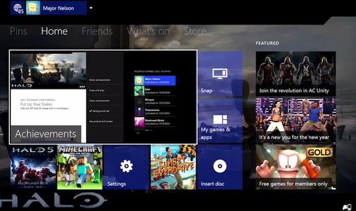 Xbox One: confira as novidades do update de fevereiro (Foto: Divulgação)