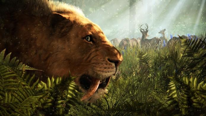 Domesticar animais é um ponto alto em Fry Cry Primal (Foto: Divulgação/Ubisoft)