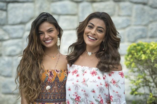 Isis Valverde e Juliana Paes (Foto: Estevam Avellar/TV Globo )