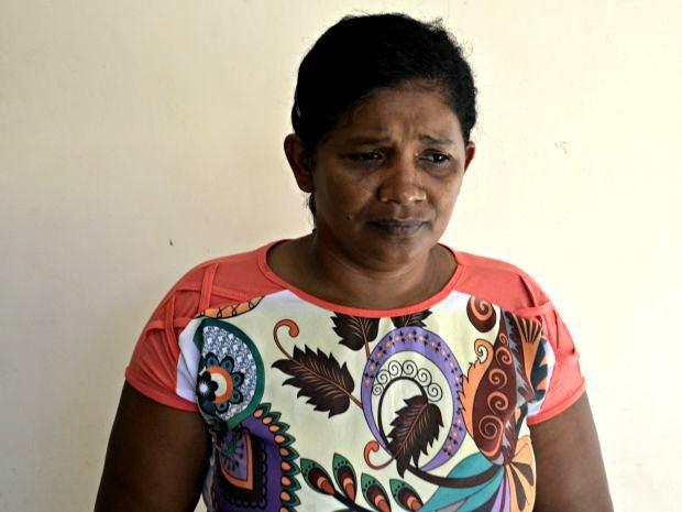 Mãe diz ser ameaçada pela filha (Foto: Adelcimar Carvalho/G1)
