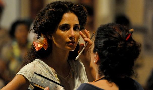 Maquiagem Camila (Foto: João Cotta/ TV Globo)