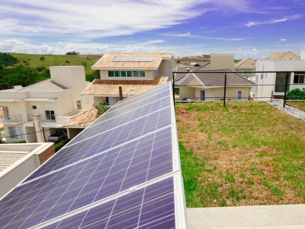 Casa em São José gera própria energia e pode ter conta de luz zerada 2 (Foto: Arquivo Pessoal/Daniel Secches)