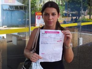 'Sensação é de frustração', diz Maíra, que pretende cursar psicologia (Foto: Analídia Ferri/G1)