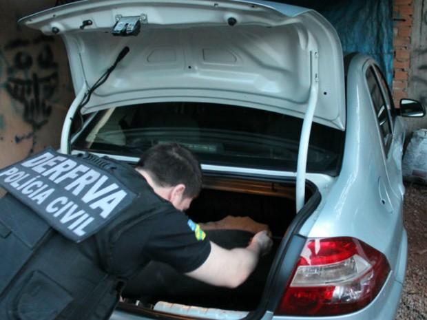 Polícia Civil faz operação contra roubo de carros na Região Metropolitana de Goiânia, Goiás (Foto: Divulgação/ Polícia Civil)