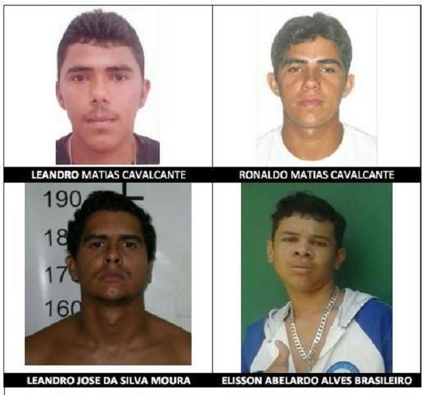 Diligências estão sendo realizadas para localizar os suspeitos (Foto: Divulgação/Agência Alagoas)