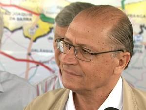 Alckmin defende mais rigor nas penas para adolescentes que cometerem crimes hediondos (Foto: Cláudio Oliveira/EPTV)