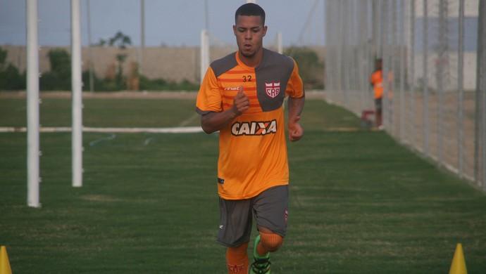 Maxwell CRB (Foto: Douglas Araújo / Assessoria CRB)