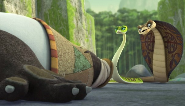 A serpente Fu-xi é considerada uma heroína entre as cobras (Foto: Divulgação/Reprodução)