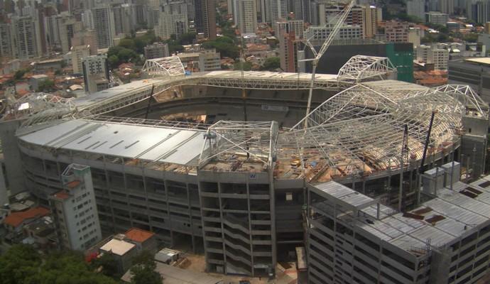 Arena Palestra Palmeiras Allianz Parque (Foto: Divulgação / WTorre)