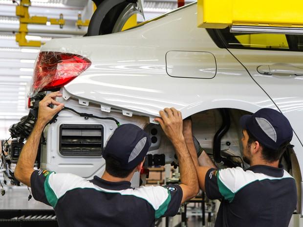 BMW inaugura fábrica em Araquari (Foto: Bruno Mooca/Divulgação)